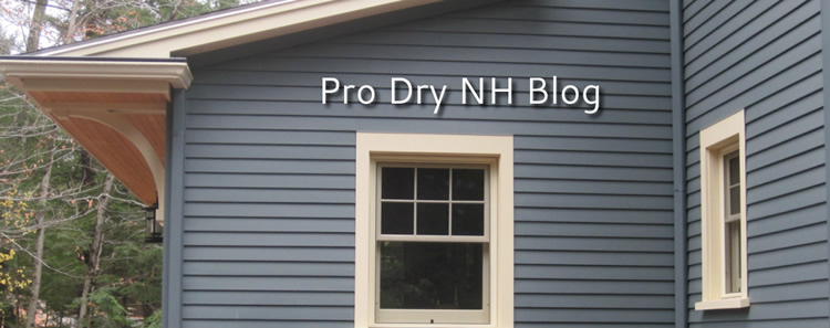 Pro Dry NH is a division of Alae Residential Design LLC